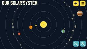 Androidアプリ「Solar System with Astro Cat」のスクリーンショット 4枚目