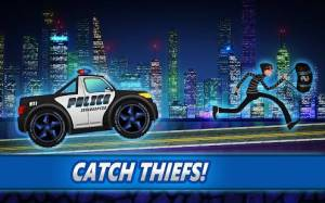 Androidアプリ「Police car racing for kids」のスクリーンショット 1枚目