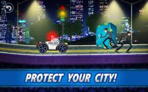 Androidアプリ「Police car racing for kids」のスクリーンショット 2枚目