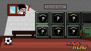 Androidアプリ「Kick Hero」のスクリーンショット 1枚目