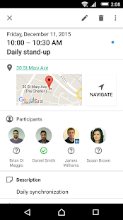 Androidアプリ「Xperia™カレンダー」のスクリーンショット 5枚目