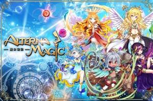 Androidアプリ「オルタナマジック-天使降臨-熟考型パズルRPG釘宮・石上CV」のスクリーンショット 1枚目