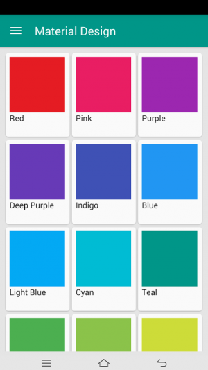 Androidアプリ「Material Design Toolkit」のスクリーンショット 1枚目