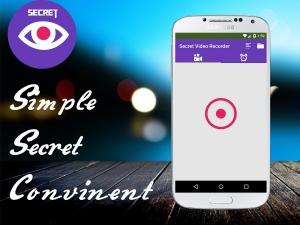 Androidアプリ「秘密のビデオレコーダー」のスクリーンショット 1枚目