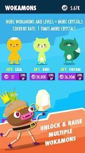Androidアプリ「Wokamon - Monster Walk Quest」のスクリーンショット 4枚目
