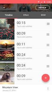 Androidアプリ「FilmStory  - 動画の作成 & 編集ならおまかせ」のスクリーンショット 3枚目