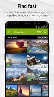 Androidアプリ「Stock Photos by Dreamstime」のスクリーンショット 4枚目