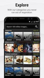 Androidアプリ「Stock Photos by Dreamstime」のスクリーンショット 2枚目