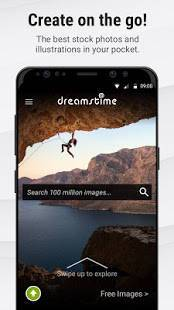 Androidアプリ「Stock Photos by Dreamstime」のスクリーンショット 1枚目