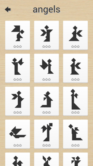 Androidアプリ「1001 Tangram puzzles game」のスクリーンショット 4枚目