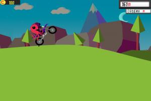 Androidアプリ「Wheelie 2」のスクリーンショット 1枚目