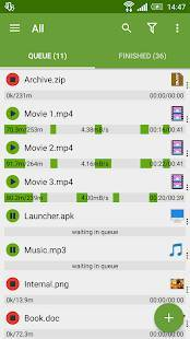 Androidアプリ「Advanced Download Manager Pro」のスクリーンショット 1枚目