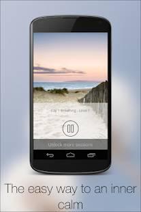 Androidアプリ「5 Minute Meditation」のスクリーンショット 4枚目