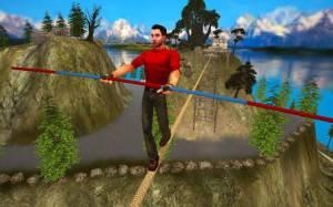 Androidアプリ「Rope Crossing Adventure VR」のスクリーンショット 1枚目