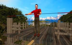 Androidアプリ「Rope Crossing Adventure VR」のスクリーンショット 3枚目