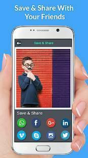 Androidアプリ「写真の背景チェンジャー」のスクリーンショット 5枚目