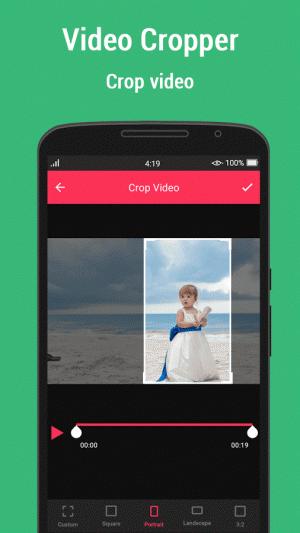 Androidアプリ「Video Crop」のスクリーンショット 5枚目