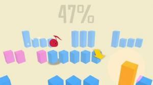Androidアプリ「Steps! - 激ムズアクションで人類の頂点を極めろ!」のスクリーンショット 2枚目