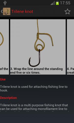 Androidアプリ「Useful Fishing Knots Pro」のスクリーンショット 3枚目