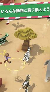 Androidアプリ「Rodeo Stampede: Sky Zoo Safari スカイ・ズー・サファリ」のスクリーンショット 5枚目