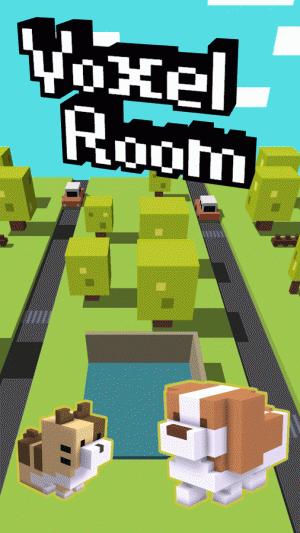 Androidアプリ「脱出ゲーム VoxelRoom ( ボクセルルーム )」のスクリーンショット 1枚目