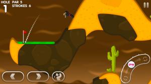 Androidアプリ「Super Stickman Golf 3」のスクリーンショット 3枚目