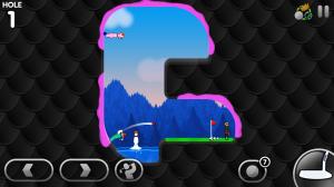 Androidアプリ「Super Stickman Golf 3」のスクリーンショット 2枚目