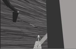 Androidアプリ「脱出!迷宮の棒人間」のスクリーンショット 2枚目