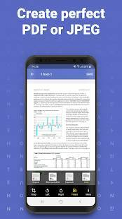 Androidアプリ「FineScanner AI - PDF Document Scanner App + OCR」のスクリーンショット 4枚目