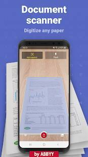 Androidアプリ「FineScanner AI - PDF Document Scanner App + OCR」のスクリーンショット 1枚目
