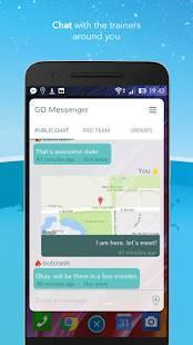 Androidアプリ「ポケモンゴ メッセンジャー」のスクリーンショット 1枚目