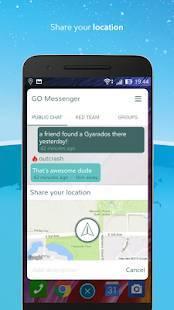 Androidアプリ「ポケモンゴ メッセンジャー」のスクリーンショット 5枚目