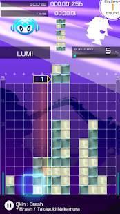 Androidアプリ「LUMINES パズル&ミュージック」のスクリーンショット 5枚目