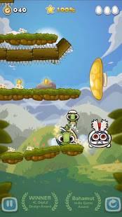 Androidアプリ「コロカメ Roll Turtle」のスクリーンショット 5枚目
