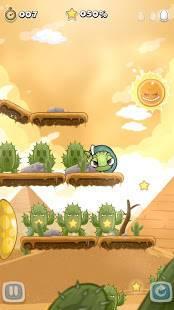Androidアプリ「コロカメ Roll Turtle」のスクリーンショット 3枚目