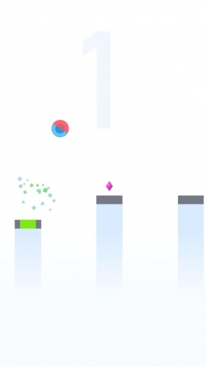 Androidアプリ「Bouncing Ball 2」のスクリーンショット 1枚目