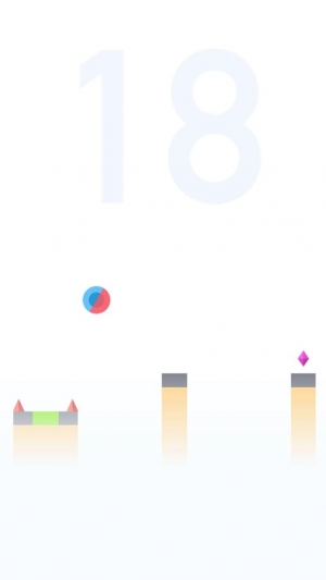 Androidアプリ「Bouncing Ball 2」のスクリーンショット 3枚目