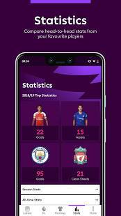 Androidアプリ「Premier League - Official App」のスクリーンショット 4枚目