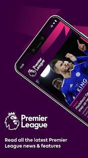 Androidアプリ「Premier League - Official App」のスクリーンショット 1枚目
