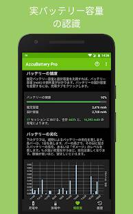 Androidアプリ「Accu​Battery - 電池 バッテリー」のスクリーンショット 4枚目