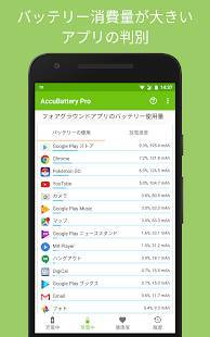 Androidアプリ「Accu​Battery - 電池 バッテリー」のスクリーンショット 3枚目