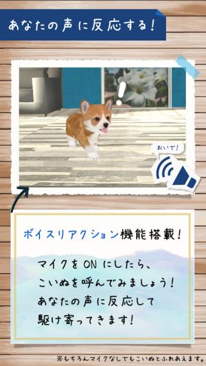 Androidアプリ「犬の癒し育成ゲーム3D 無料でペット育成」のスクリーンショット 3枚目