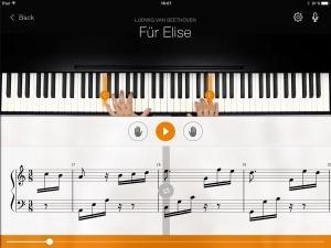 Androidアプリ「flowkey: Learn Piano」のスクリーンショット 1枚目