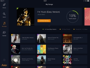 Androidアプリ「flowkey: Learn Piano」のスクリーンショット 4枚目