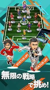 Androidアプリ「ポケットサッカークラブ」のスクリーンショット 2枚目