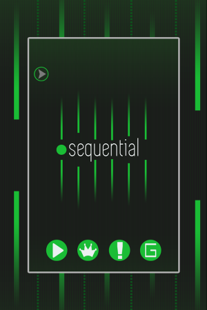 Androidアプリ「Sequential」のスクリーンショット 1枚目