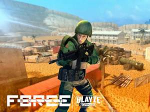 Androidアプリ「Bullet Force」のスクリーンショット 1枚目