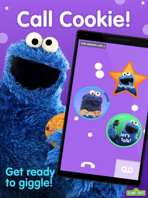 Androidアプリ「Cookie Calls」のスクリーンショット 1枚目