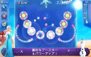 Androidアプリ「アナと雪の女王 Free Fall:スノーショット」のスクリーンショット 2枚目