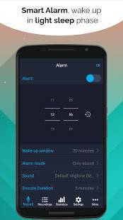Androidアプリ「Do I Snore or Grind」のスクリーンショット 2枚目